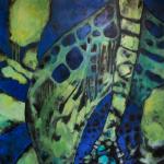 Hüterin des Schatzes 1,20m x 1,00m